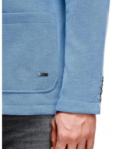 Men's casual blazer jacket M84 - blue