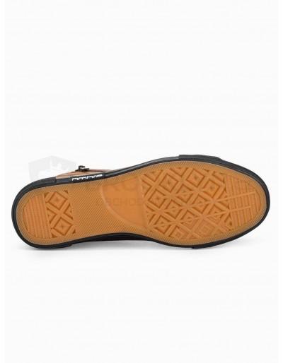 Men's ankle shoes T352 - camel
