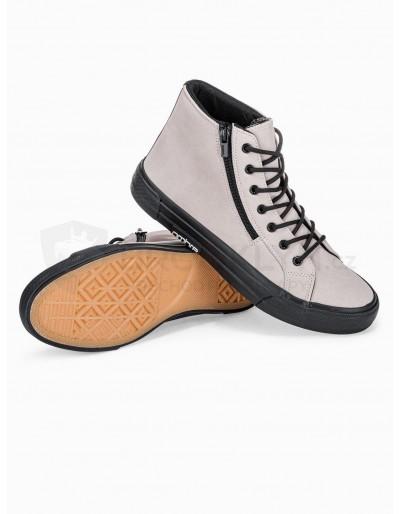 Men's ankle shoes T352 - beige