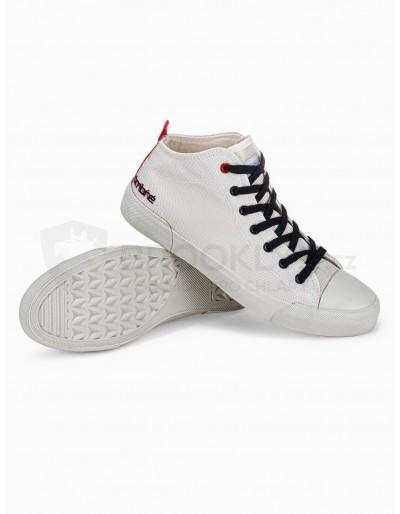 Men's ankle shoes T356 - white