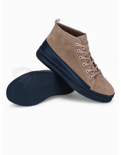 Men's casual sneakers T362 - beige