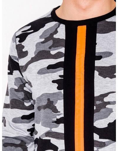 Men's sweatshirt B808 - grey