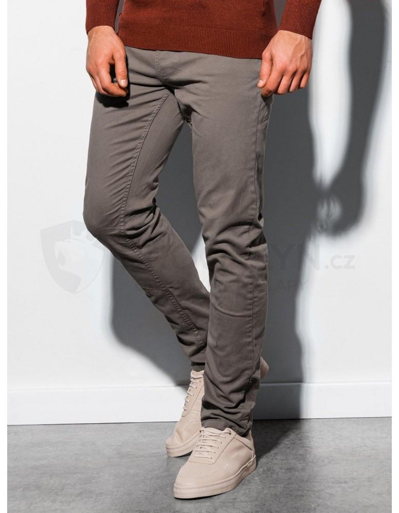 Pánské kalhoty P895 - tmavě béžové
