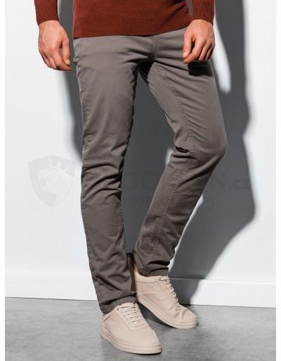 Men's pants P895 - dark beige