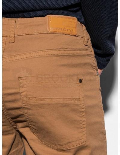 Men's pants P895 - camel