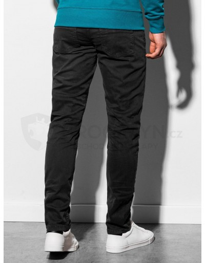 Men's pants P895 - black
