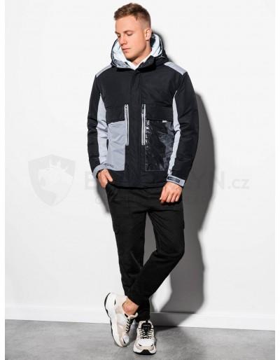 Pánská zimní bunda C460 - černá