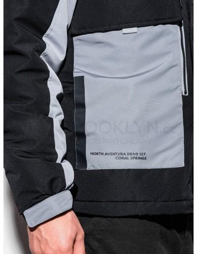 Men's winter jacket C460 - black