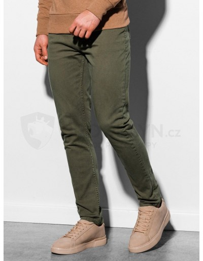 Men's pants P895 - khaki