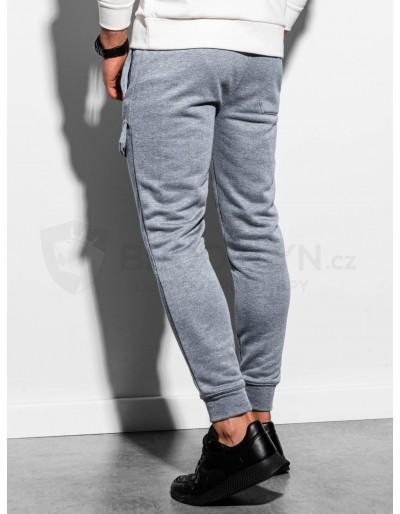 Men's sweatpants P904 - grey melange