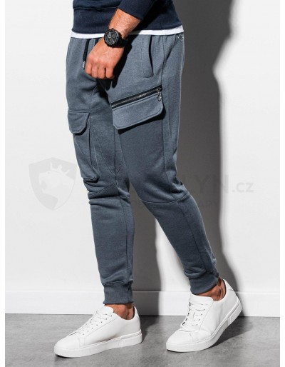 Men's sweatpants P905 - dark grey