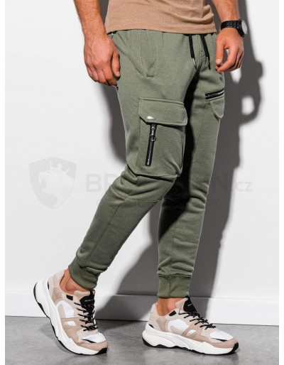 Men's sweatpants P905 - khaki
