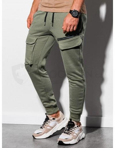 Men's sweatpants P905 - khaki