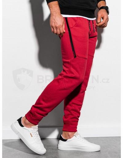 Men's sweatpants P919 - red