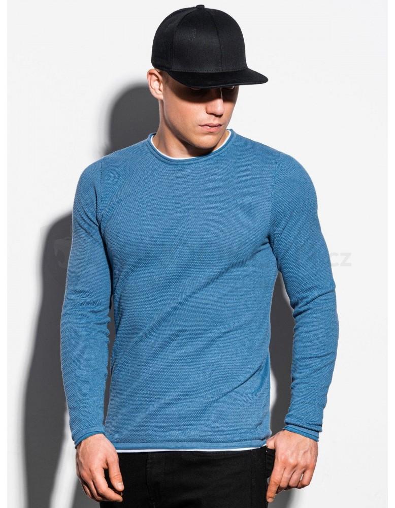 Pánský svetr E121 - světle modrý