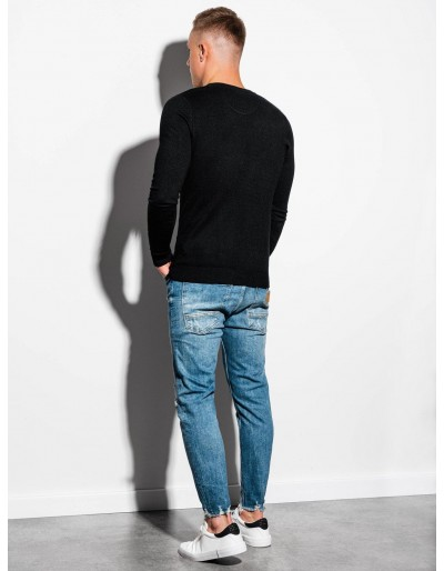 Men's sweater E177 - black