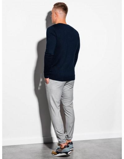 Men's sweater E177 - navy