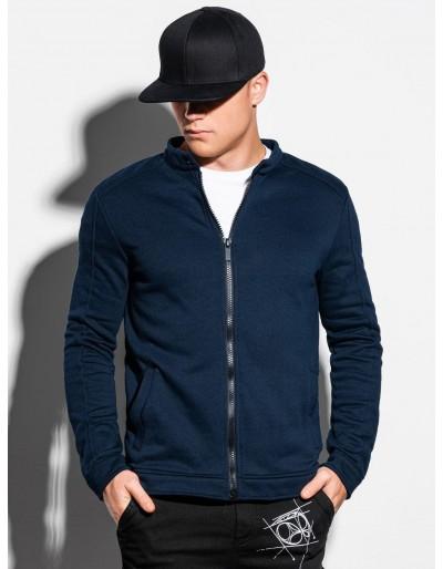 Men's zip-up sweatshirt B1071 - navy