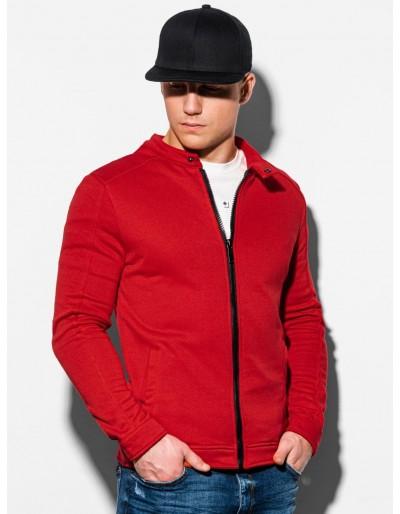 Men's zip-up sweatshirt B1071 - red