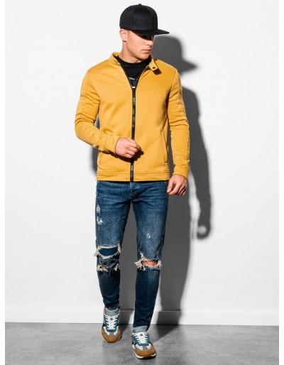 Men's zip-up sweatshirt B1071 - yellow