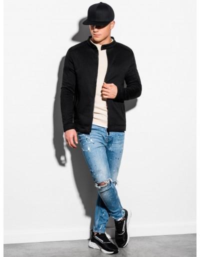 Men's zip-up sweatshirt B1071 - black