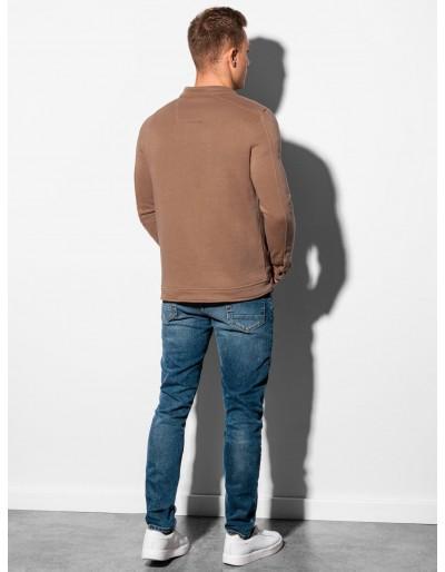 Men's zip-up sweatshirt B1071 - brown