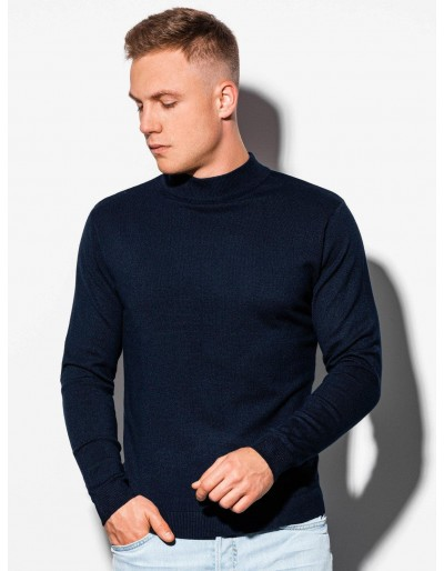 Men's sweater E178 - navy