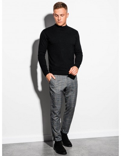 Men's sweater E178 - black