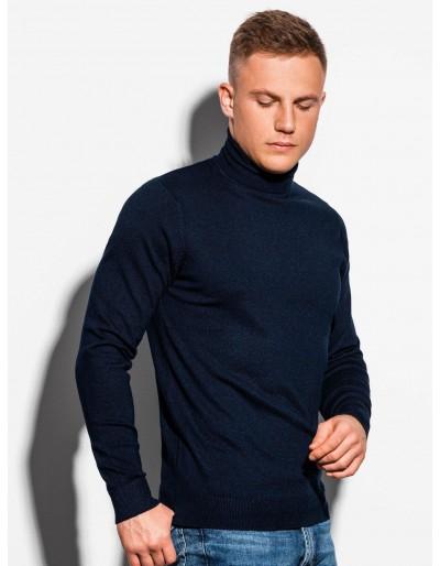 Men's sweater E179 - navy