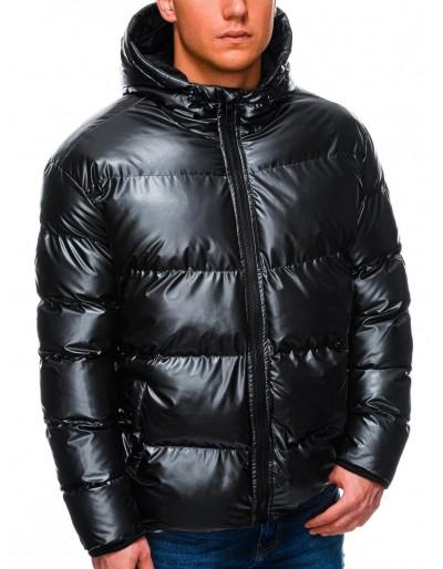 Pánská zimní bunda C463 - černá