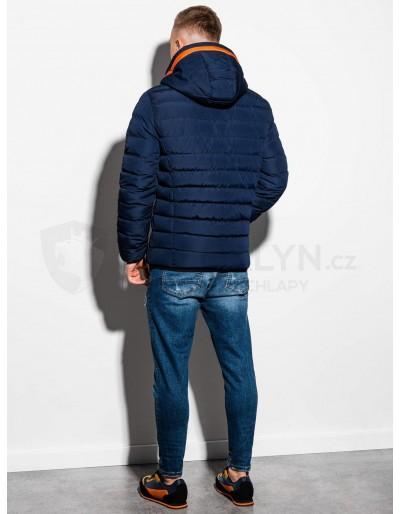 Men's Autumn quilted jacket C363 - navy