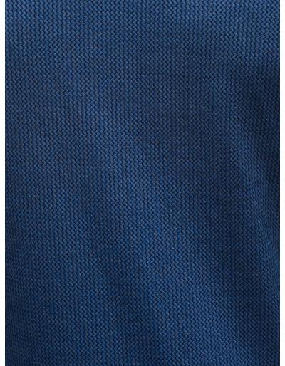 Men's zip-up sweatshirt C453 - navy