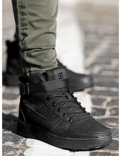 Men's sneakers T317 - black