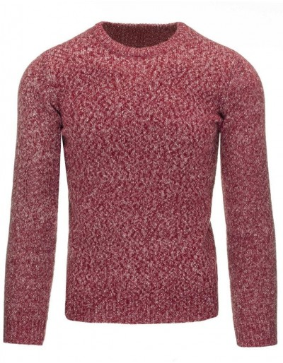 Pánský bordový svetr WX0787