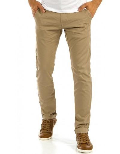 Pánské béžové chino kalhoty UX0876