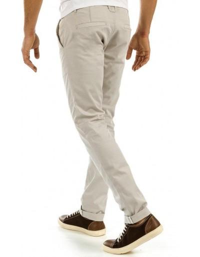 Spodnie męskie chinos beżowe UX0878