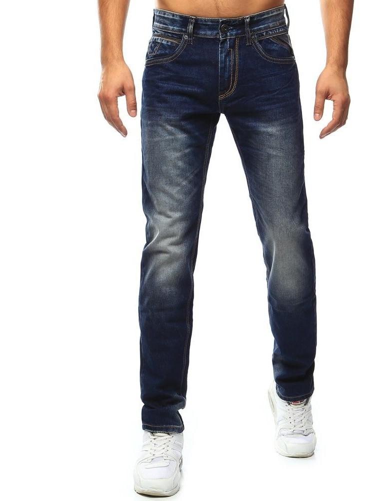 Pánské tmavě modré džíny UX0912