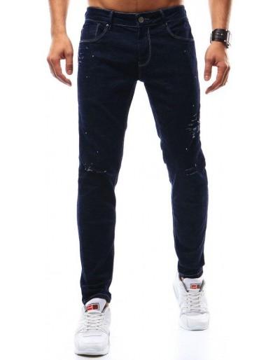 Pánské tmavě modré džíny UX0931