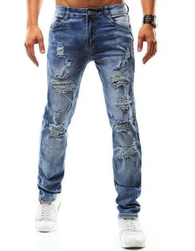 Pánské modré džínové kalhoty UX0935