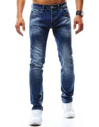 Pánské modré džínové kalhoty UX0937