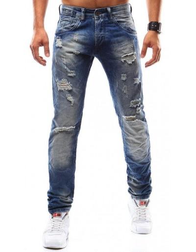 Modré pánské džíny UX0938