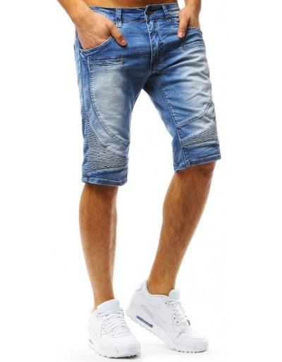 Spodenki jeansowe męskie niebieskie SX0535