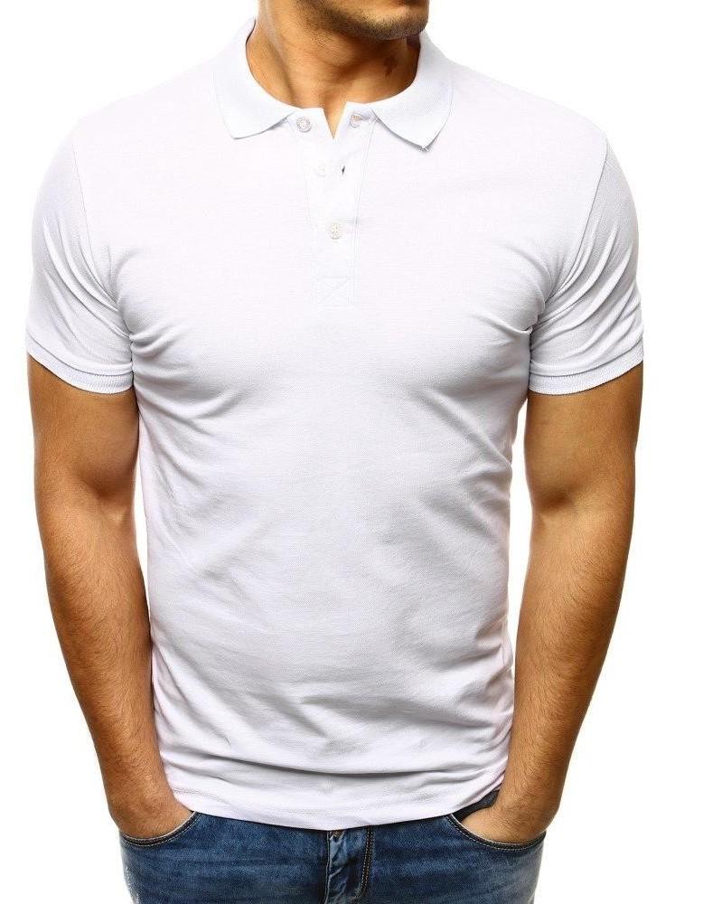 Pánská bílá polokošile PX0124