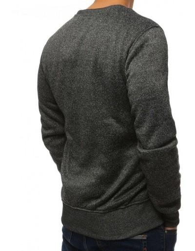 Bluza męska bez kaptura antracytowa BX2362