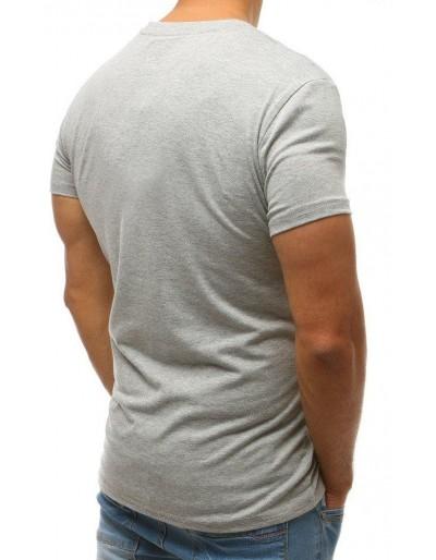 T-shirt męski szary RX2570