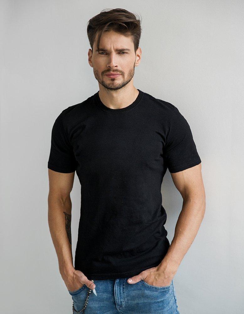 Černé pánské tričko RX2572