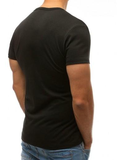 T-shirt męski czarny RX2572