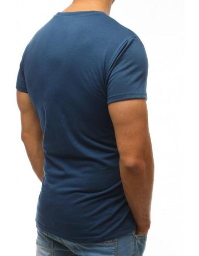 T-shirt męski granatowy RX2574