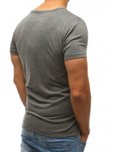 T-shirt męski antracytowy RX2576