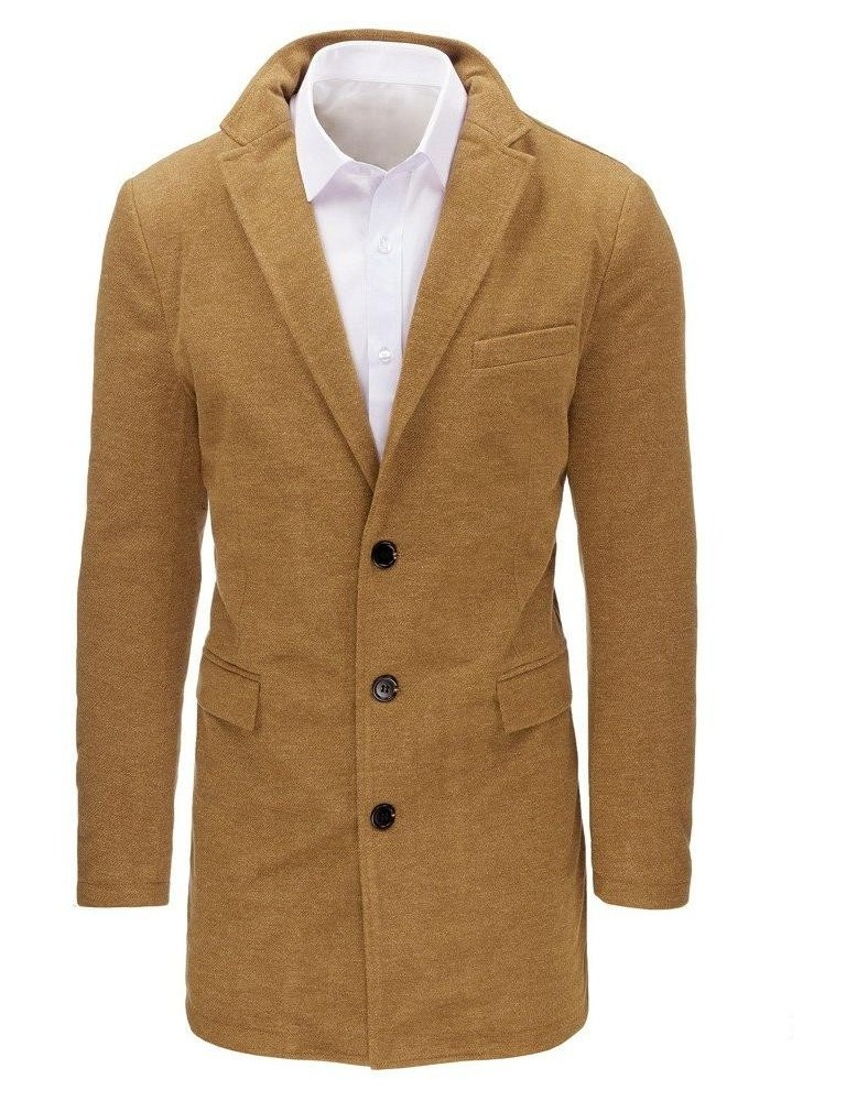 Velbloudí pánský kabát CX0359